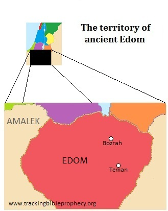 Ancient territory of Edom