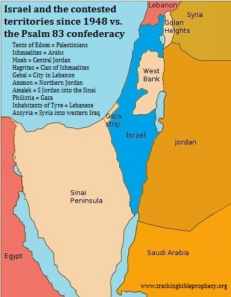 Israel and contested territories