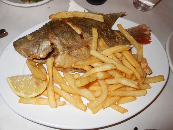 Tilapia from Galilee
