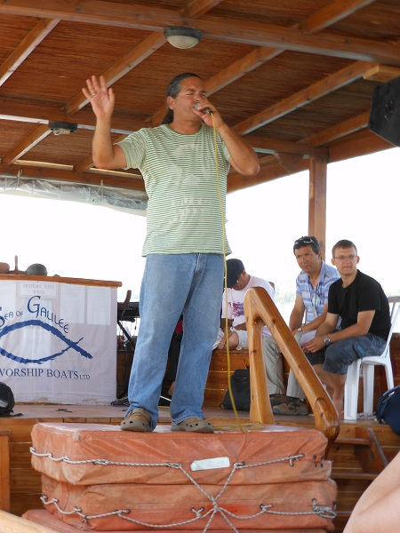 Praise and worship on Galilee